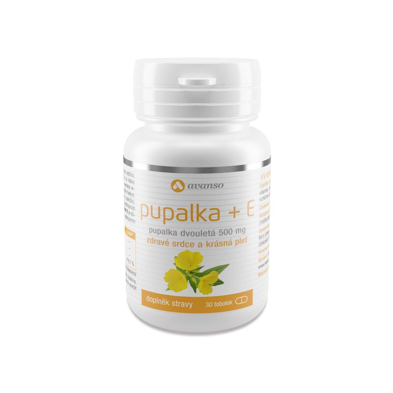 Pupalka + E